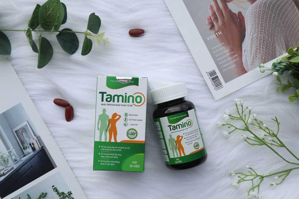Tamino sản phẩm thuốc tăng cân tốt nhất hiện nay