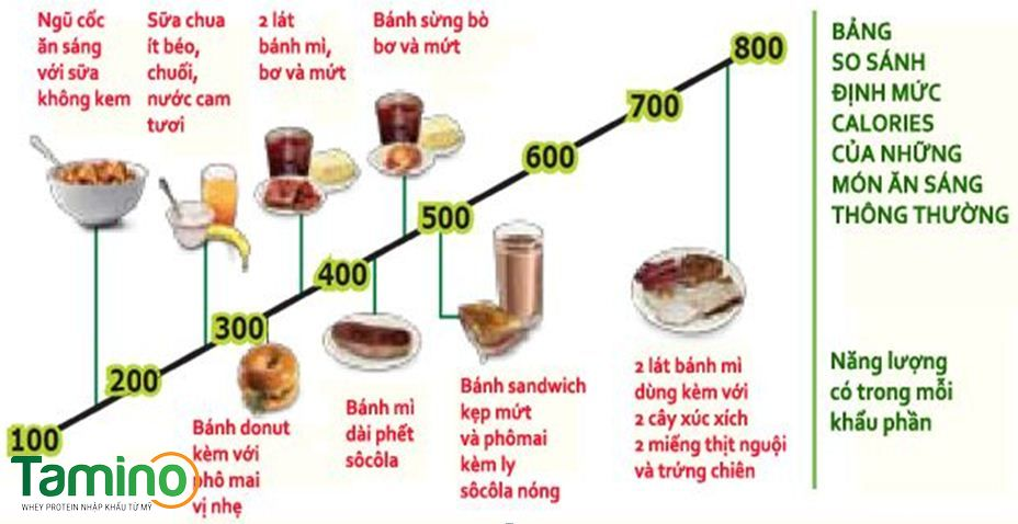 cách ăn sáng tăng cân 1