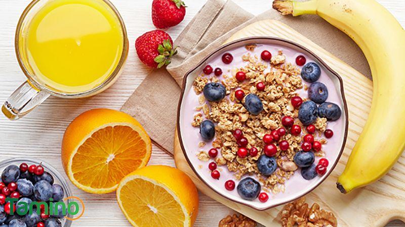 cách ăn sáng tăng cân 8