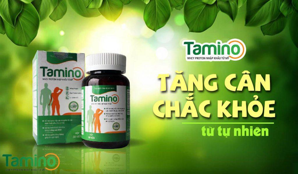 Tamino đều được chiết xuất hoàn toàn từ thiên nhiên
