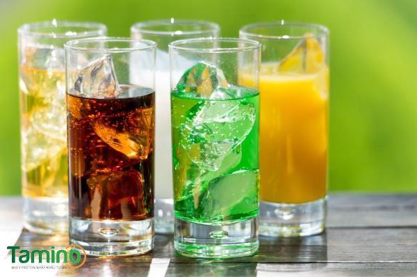 Đối với những gầy muốn cải thiện cân nặng, cần phải loại bỏ các loại đồ uống có ga