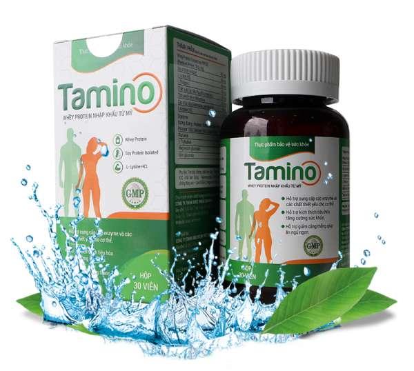 Tamino - là viên uống hỗ trợ tăng cân hiệu quả