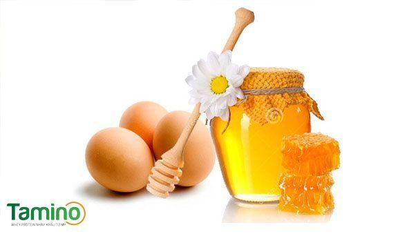 Cách tăng cân bằng mật ong và trứng gà