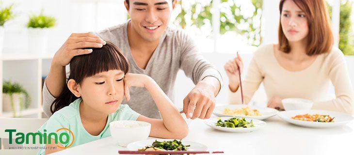 Biếng ăn, chậm hấp thu chất dinh dưỡng