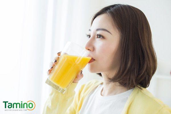 Những lưu ý cần nhớ khi uống tinh bột nghệ tăng cân