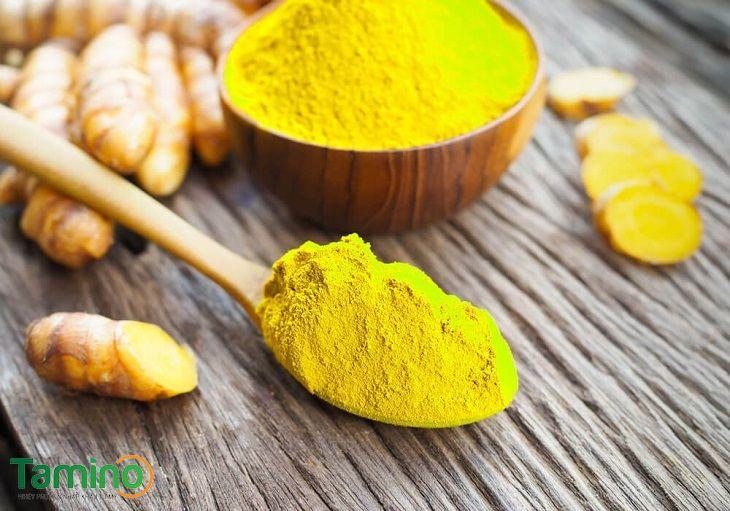 Cách uống tinh bột nghệ vàng để tăng cân