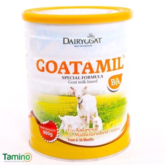 Sữa dê Goatamil BA dinh dưỡng cao cấp dành cho trẻ biếng ăn