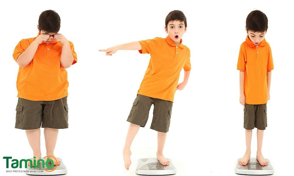 Biểu hiện trẻ em suy dinh dưỡng thể nhẹ cân